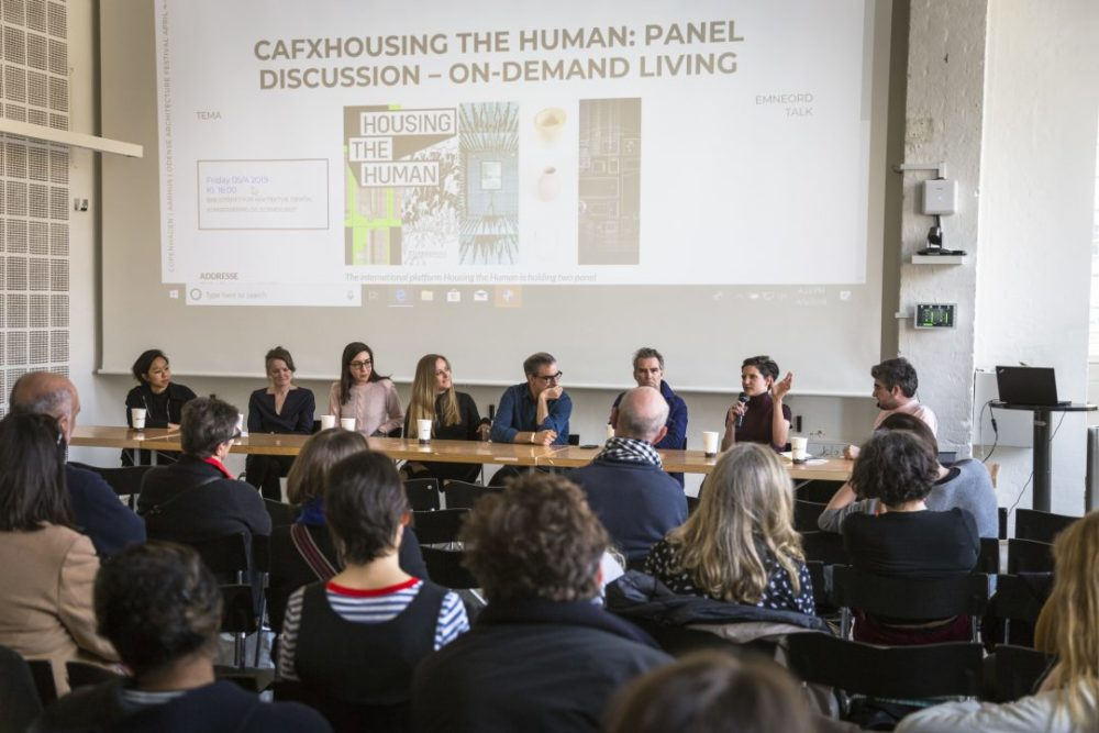 Panel discussion in Copenhagen On Demand Living