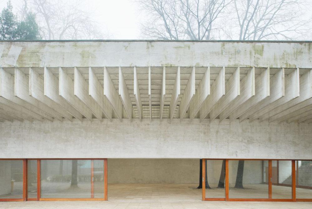 Nordic Pavilion in Venice by Sverre Fehn. Photo: Åke E:son Lindman