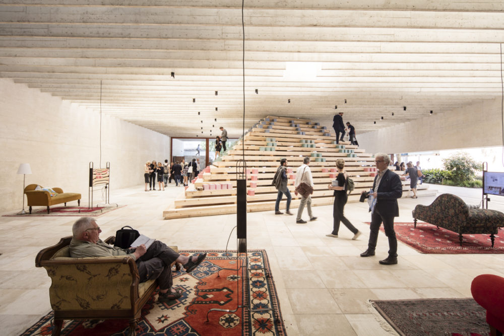 'In Therapy' in the Nordic Pavilion in Venice. Photo: Laurian Ghinitoiu